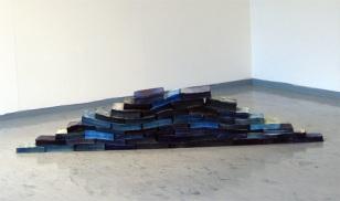 Vankilapako/Prison escape, kirjat, muste/books, ink, 2006