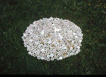 Aquamatic, keraamiset vedenkeräyskupit/ ceramic water collecting cups, 2010
