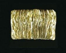 Lotus, tapetti leikattuna jalkapohjan muotoon/wallpaper cut into shape of footsteps, 2007