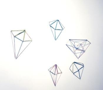 Forever Now, kuminauhat, rubber bands, 2012