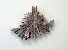 Laidat/Edges, paperi, guassi, kuminauha/paperi, guasche, rubberband, 2011
