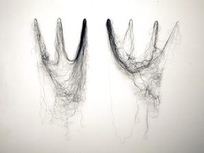 Nimetön/Untitled, lanka/thread, 2011