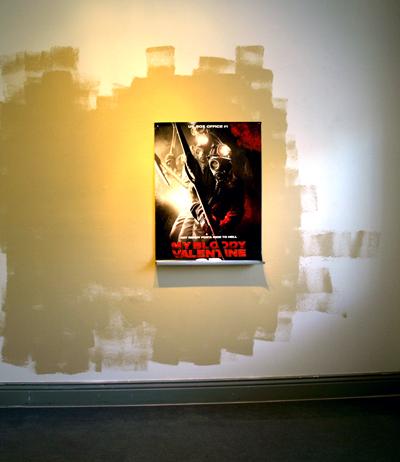 Mad in love, juliste, beige maali/poster, beige paint, 2012