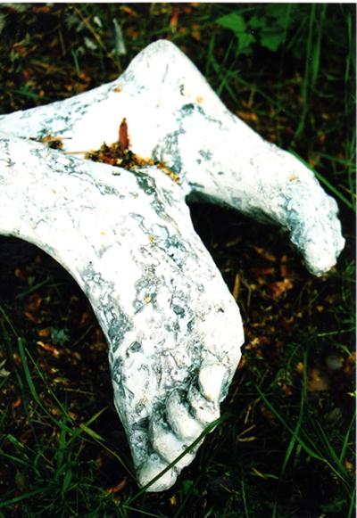 legs of my sculpture