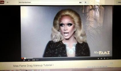 miss fame drag makeup tutorial