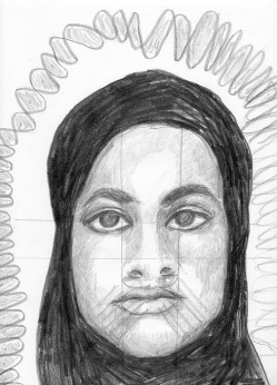 passport picture of a missing girl