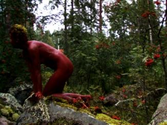 Red ochre splash/Punamultapläjäys, 1998, Juuka