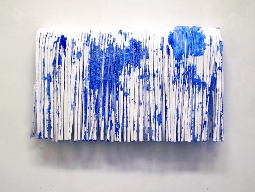 Paperileikkaus/Papercut, watercolor, paper/vesiväri, paperi, 2011