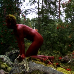 Red Ocre Splash, 1998, Juuka, SuoMen
