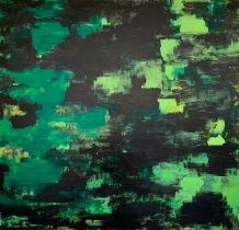 War painting, acrylic on canvas, 2017