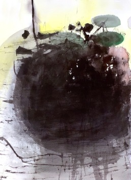 Hiljainen tieto, vesiväri, 2009