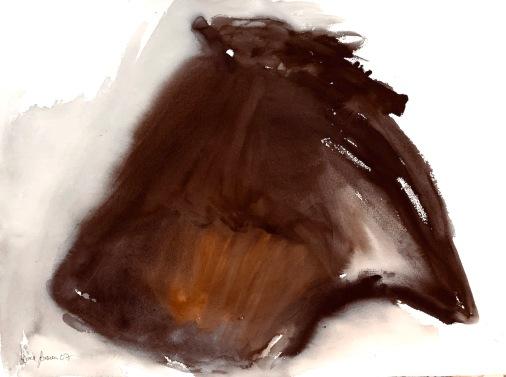 Ritariperhonen, perhosen elämä, 75*55cm, 2007